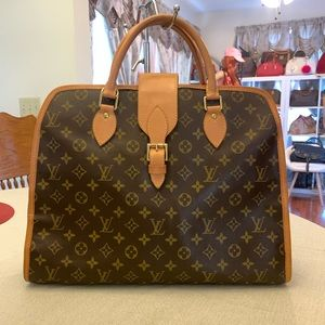 Authentic Louis Vuitton Rivoli Briefcase